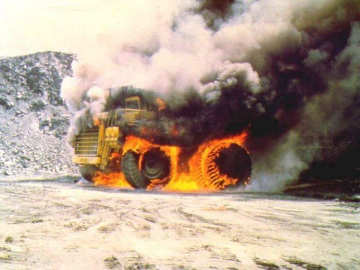 Wypadki w kopalniach odkrywkowych 9
