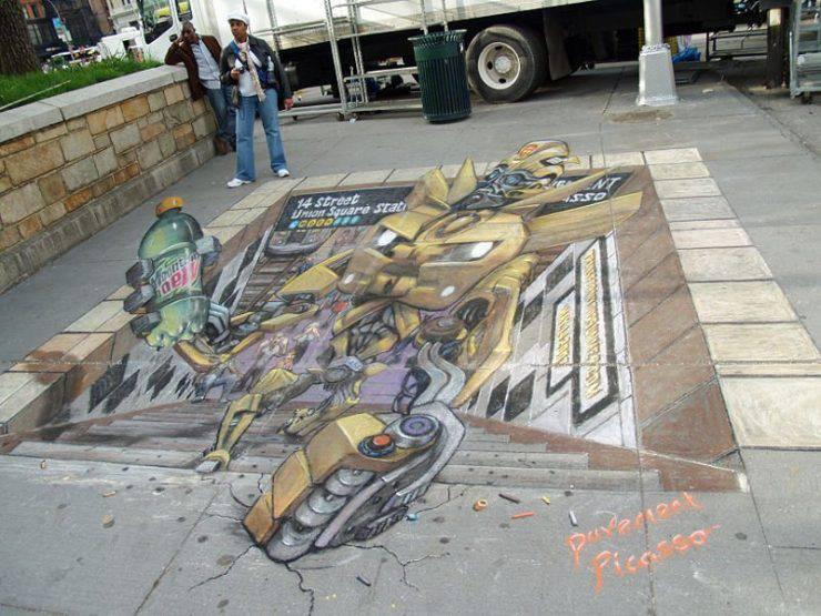 Sztuka na ulicach miast 13