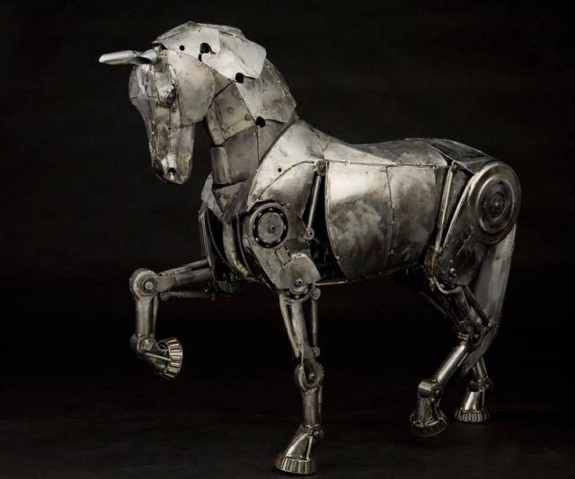 Steampunkowe rzeźby 3