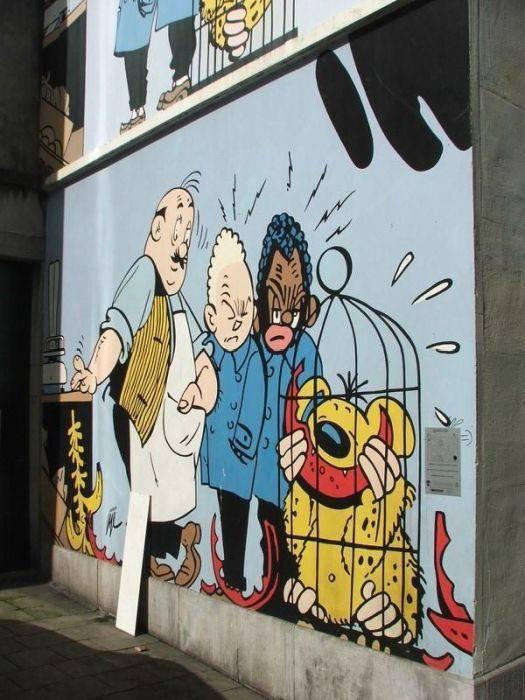 Street Art: Belgia 11