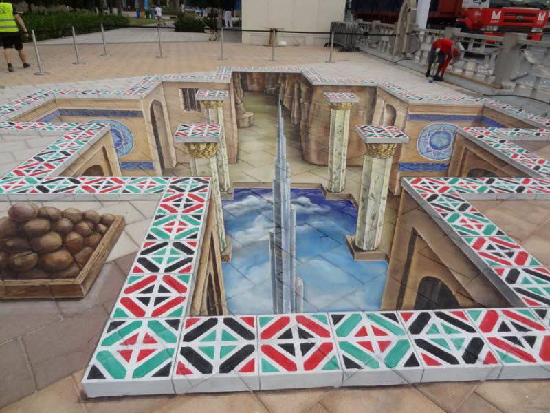 Sztuka uliczna w 3D #2 3