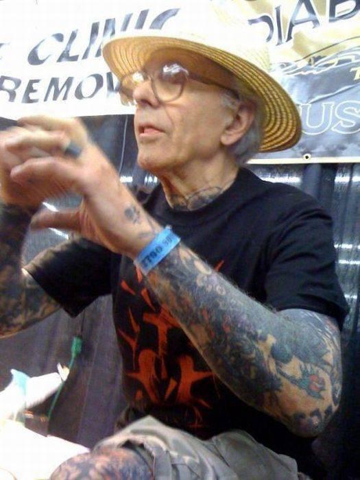 Starość z tatuażem 12