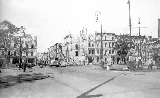 Wrocław  1945 Zniszczenia 23