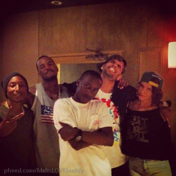 leah labelle pharrell dating