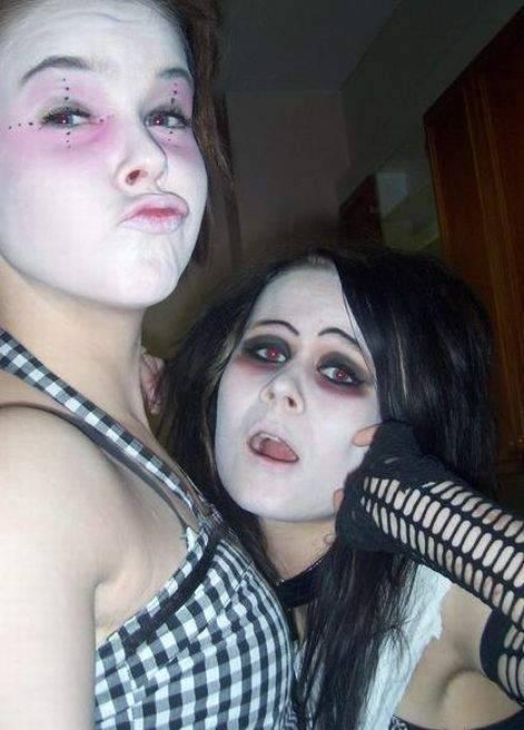 Najdziwniejszy makijaż 4