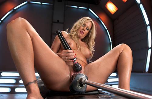 Simone Sonay - Milf Machine Fucked By Big Cock - Kink/ FuckingMachines (2012/ HD 720p)