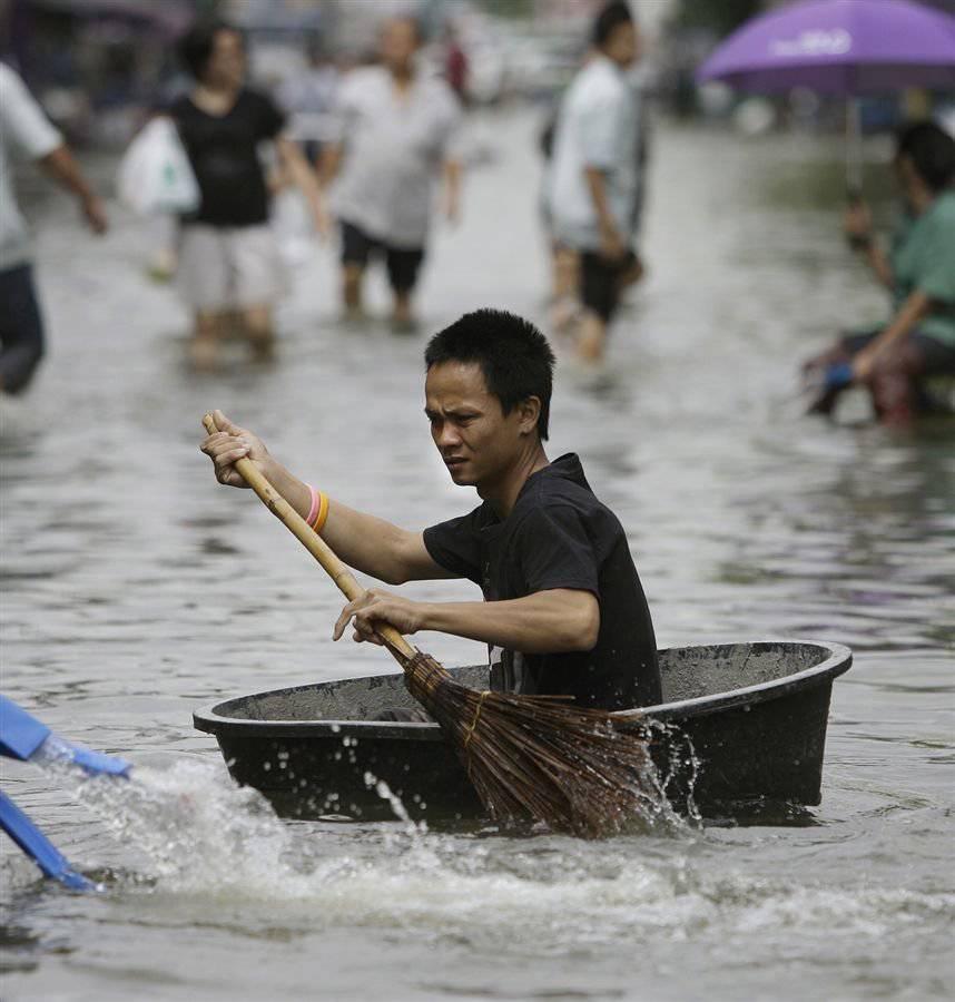 Miasta w czasie powodzi 39