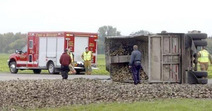 Wypadki ciężarówek 39
