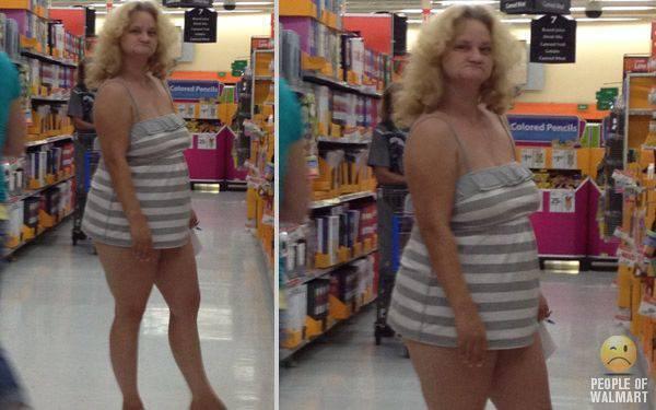 Najdziwniejsi klienci z WalMart #14 38