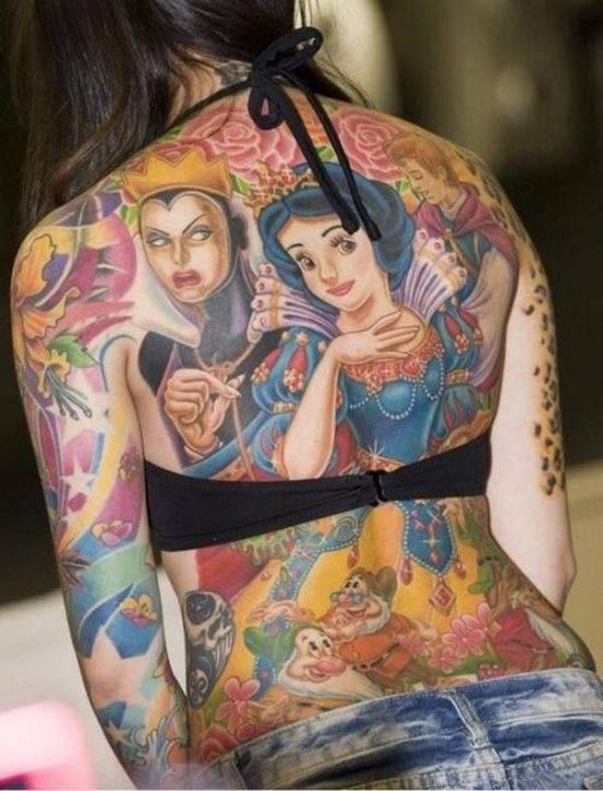 Nietypowe tatuaże 5
