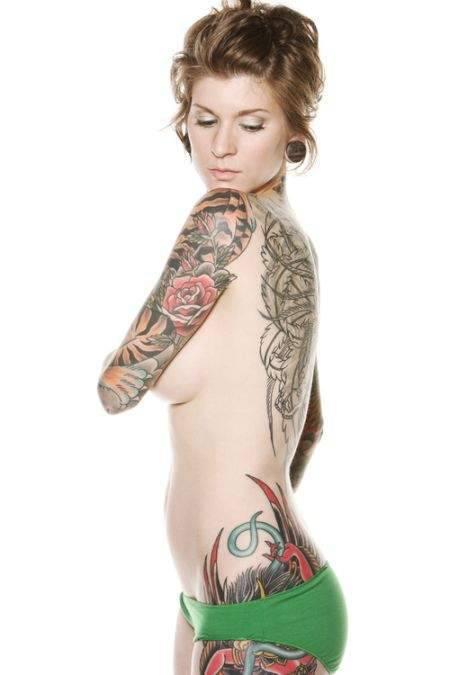 Kobiece tatuaże #3 11