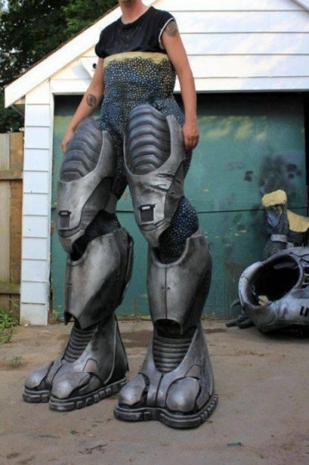 Świetny kostium z gry Halo 28