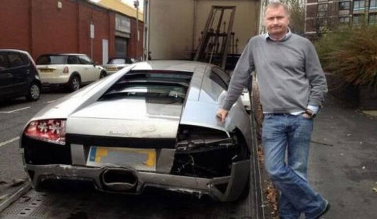 Wypadki najdroższych samochodów #2 33