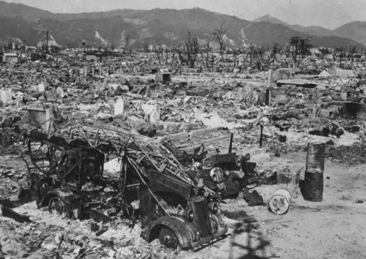 Hiroszima po bombardowaniu. 19