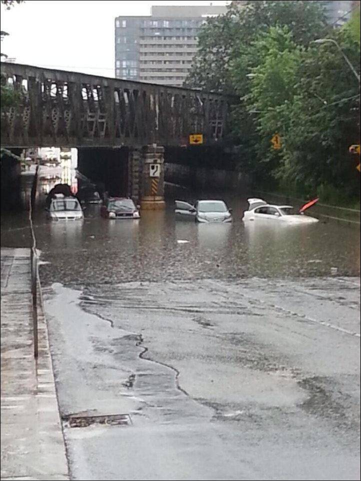 Toronto pod wodą 25