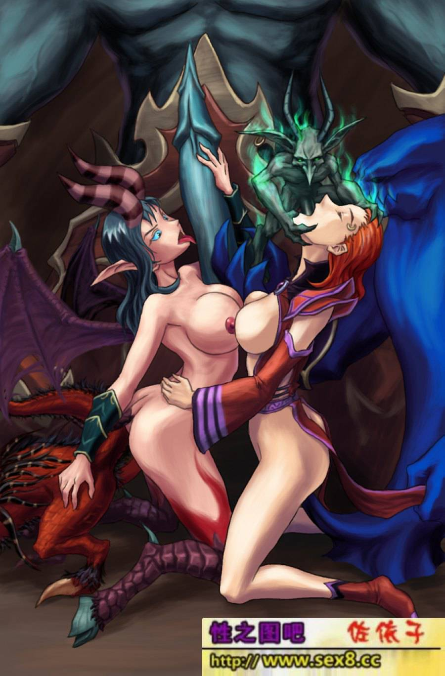 World of warcraft blood elf warlock porn  nude download
