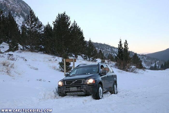 Kobiety za kierownicą zimą 31