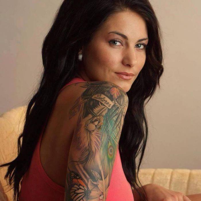 Dziewczyny z tatuażami #6 28