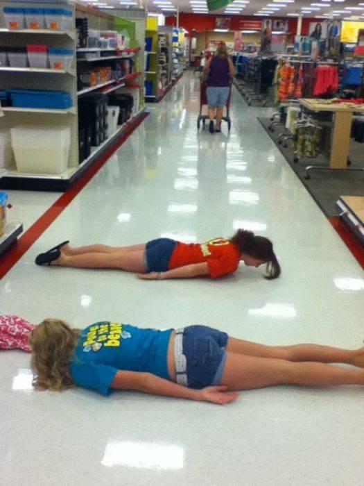 Planking - zabawa w leżenie 38