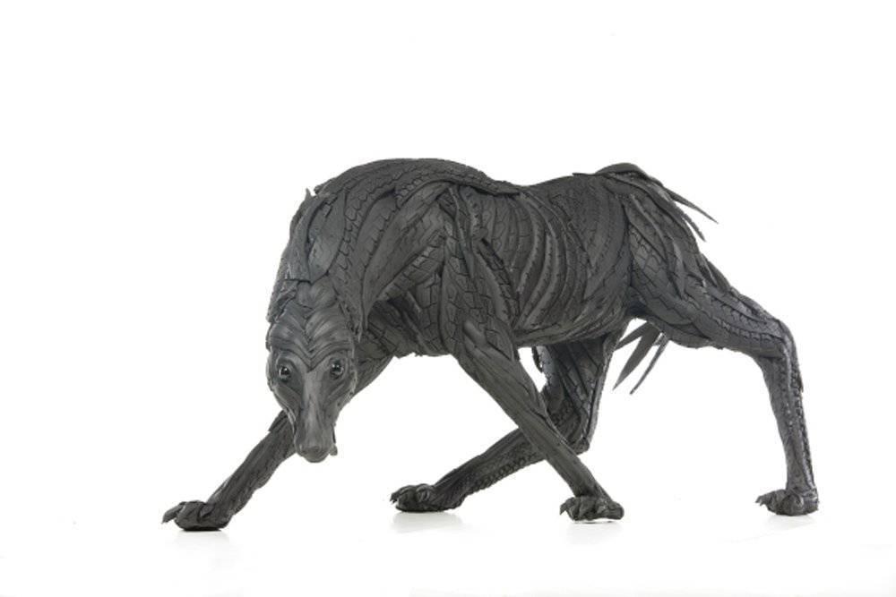 Rzeźby z opon #2 13