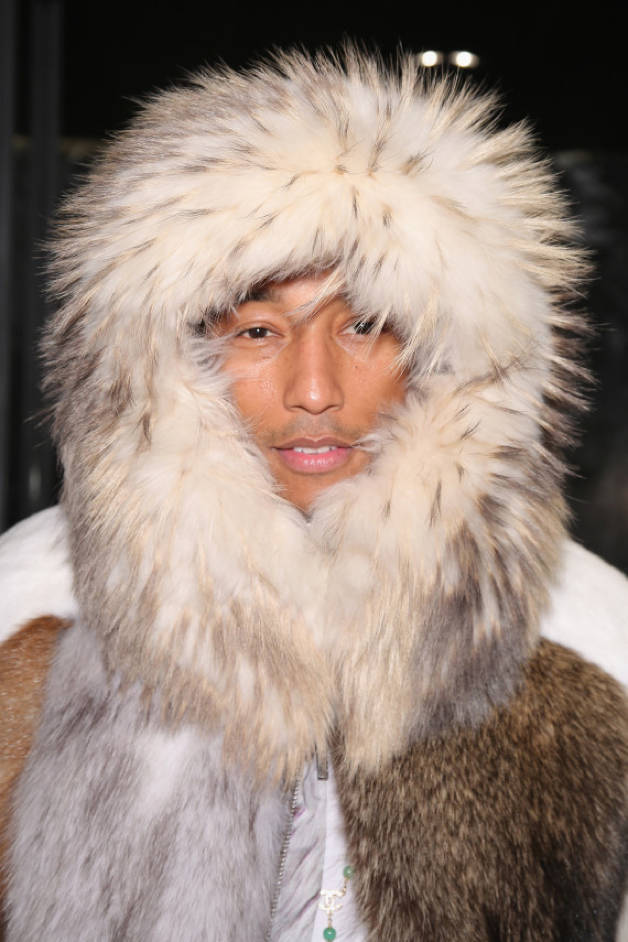PETA Asks Pharrell Williams To Stop Wearing Fur | The Neptunes #1 ...