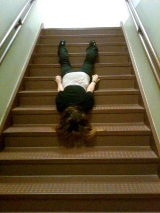 Planking - zabawa w leżenie 80