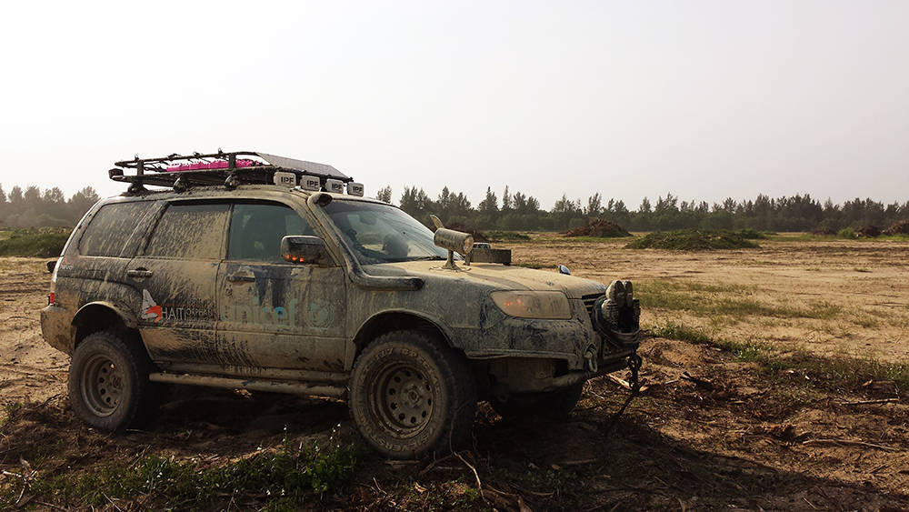 Crazily Lifted Forester Meet Noisy Boy Subaru Forester