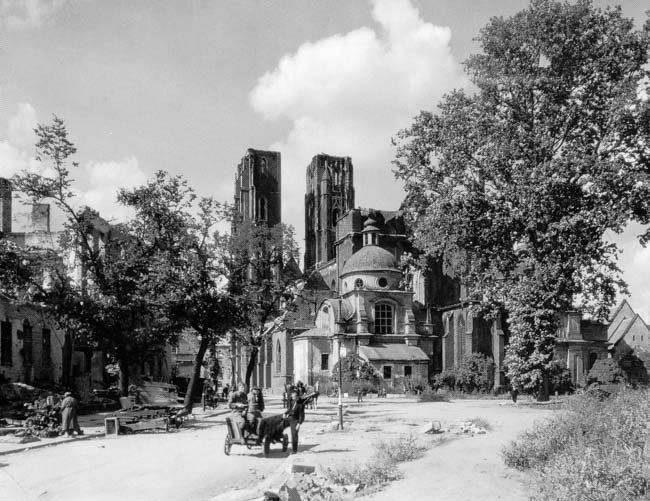 Wrocław  1945 Zniszczenia 36