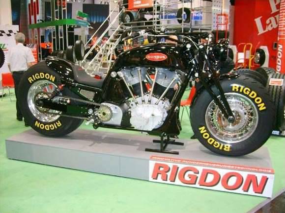 Gunbus - największy motocykl świata 9