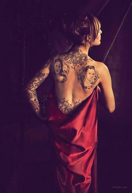 Dziewczyny i tatuaże 7