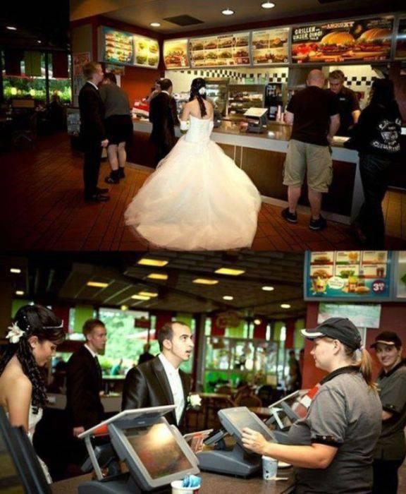 Najdziwniejsze zdjęcia ślubne #4 6