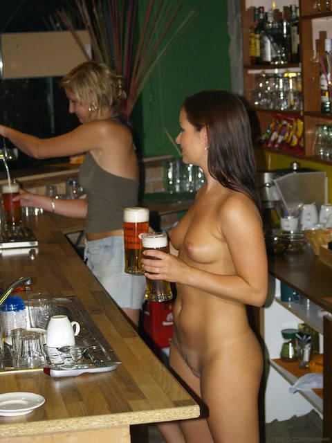 только, голые официантки фото будет, если мужчине