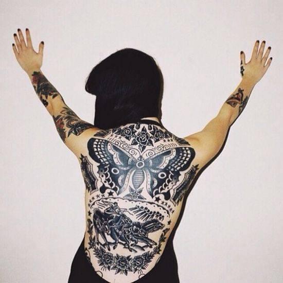 Odważne tatuaże #3 28