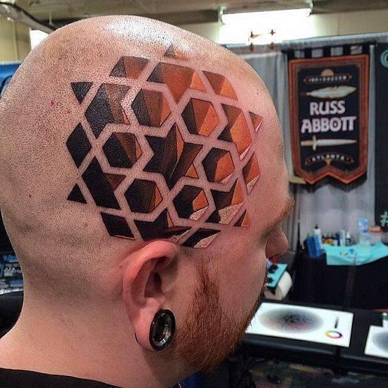 Nietypowe tatuaże #4 3