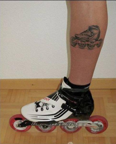 Tatuaże z motywem sportowym 2