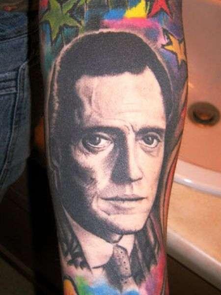 Tatuaże z twarzami znanych ludzi 3