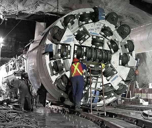 TBM - maszyny-krety drążące tunele 5