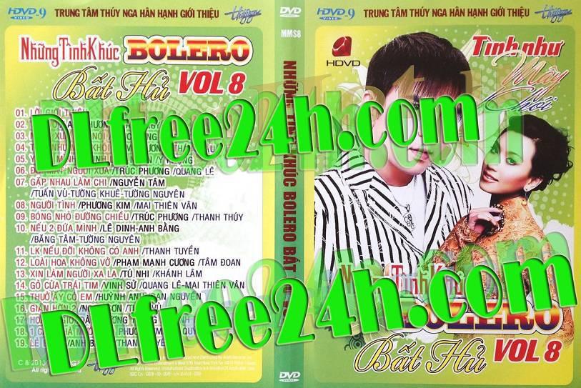Những Tình Khúc BOLERO Bất Hủ Vol-8 Tình Như Mây Khói DVD5