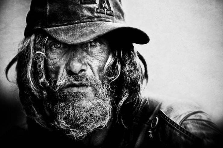 Niezwykłe zdjęcia bezdomnych. 1