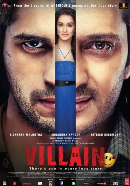 (Hindi) Ek Villain 2014 Hindi 720p DvDRip x264 AAC   Hon3y