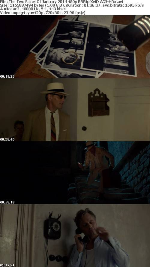 The Two Faces Of January 2014 480p BRRip XviD AC3-HDx