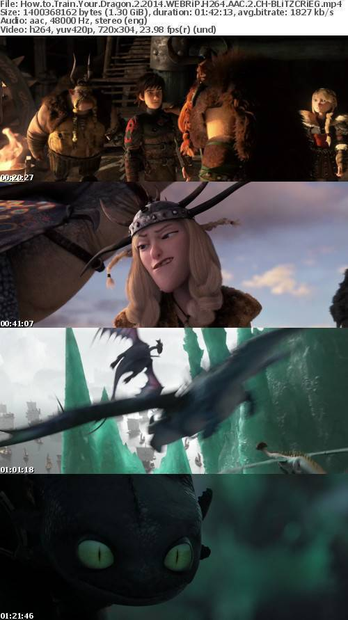 How to Train Your Dragon 2 2014 (Multi Subs) WEBRiP H264 AAC 2CH-BLiTZCRiEG