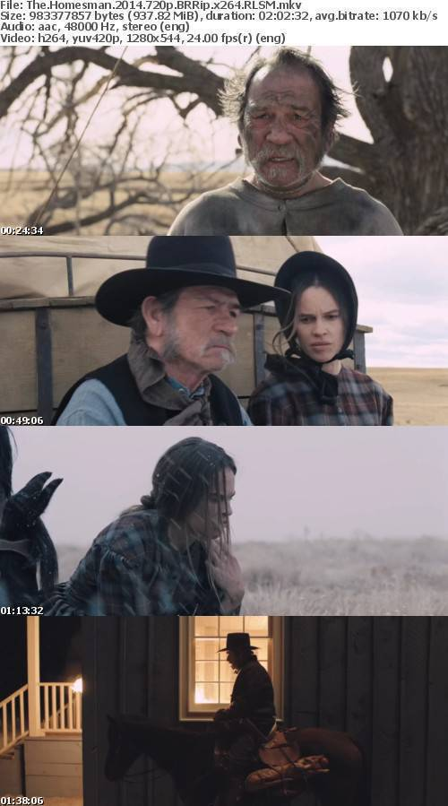 The Homesman 2014 720p BRRip x264-RLSM