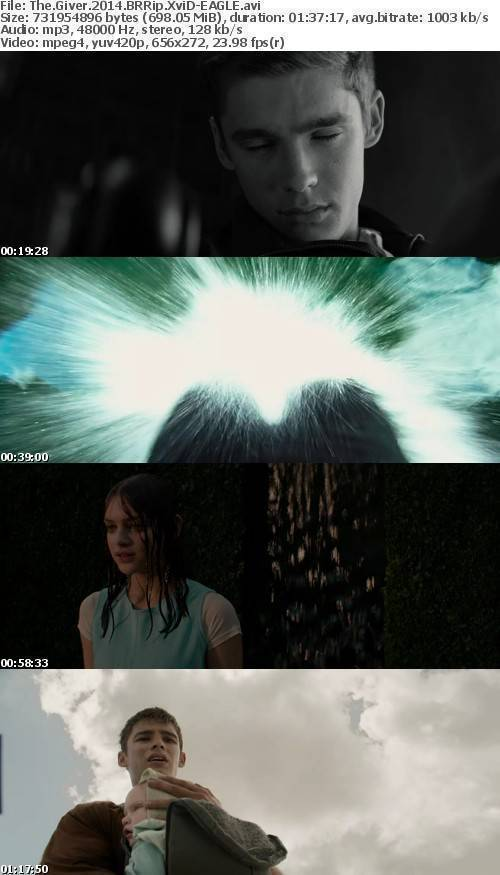 The Giver 2014 BRRip XviD-EAGLE