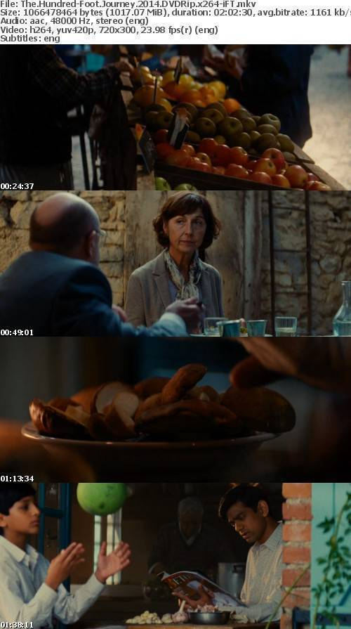The Hundred-Foot Journey 2014 DVDRip x264-iFT