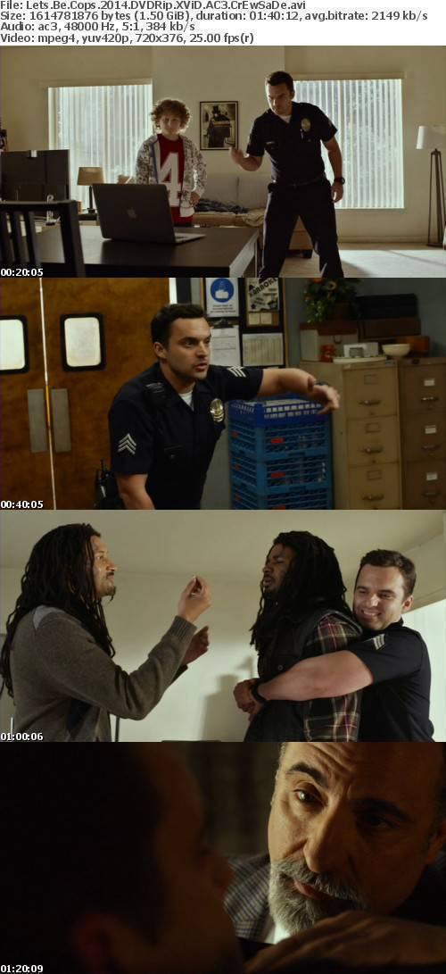 Lets Be Cops 2014 DVDRip XViD AC3 CrEwSaDe
