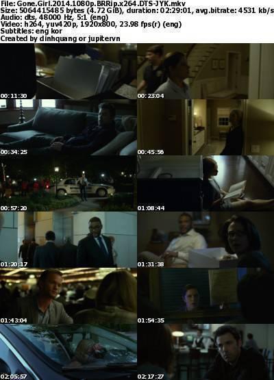 Gone Girl (2014) 1080p BRRip x264 DTS-JYK