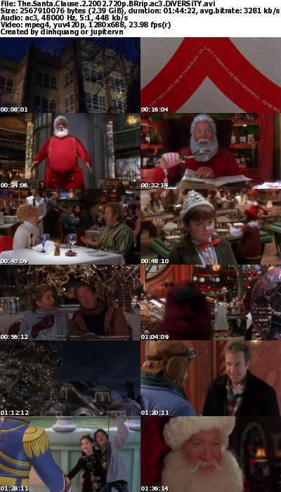 The Santa Clause 2 (2002) 720p BRRip AC3-DiVERSiTY