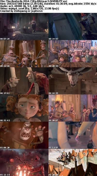 The Boxtrolls (2014) 720p BRRip AC3-DiVERSiTY
