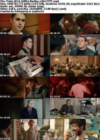 Pride (2014) 1080p BluRay x264-YIFY